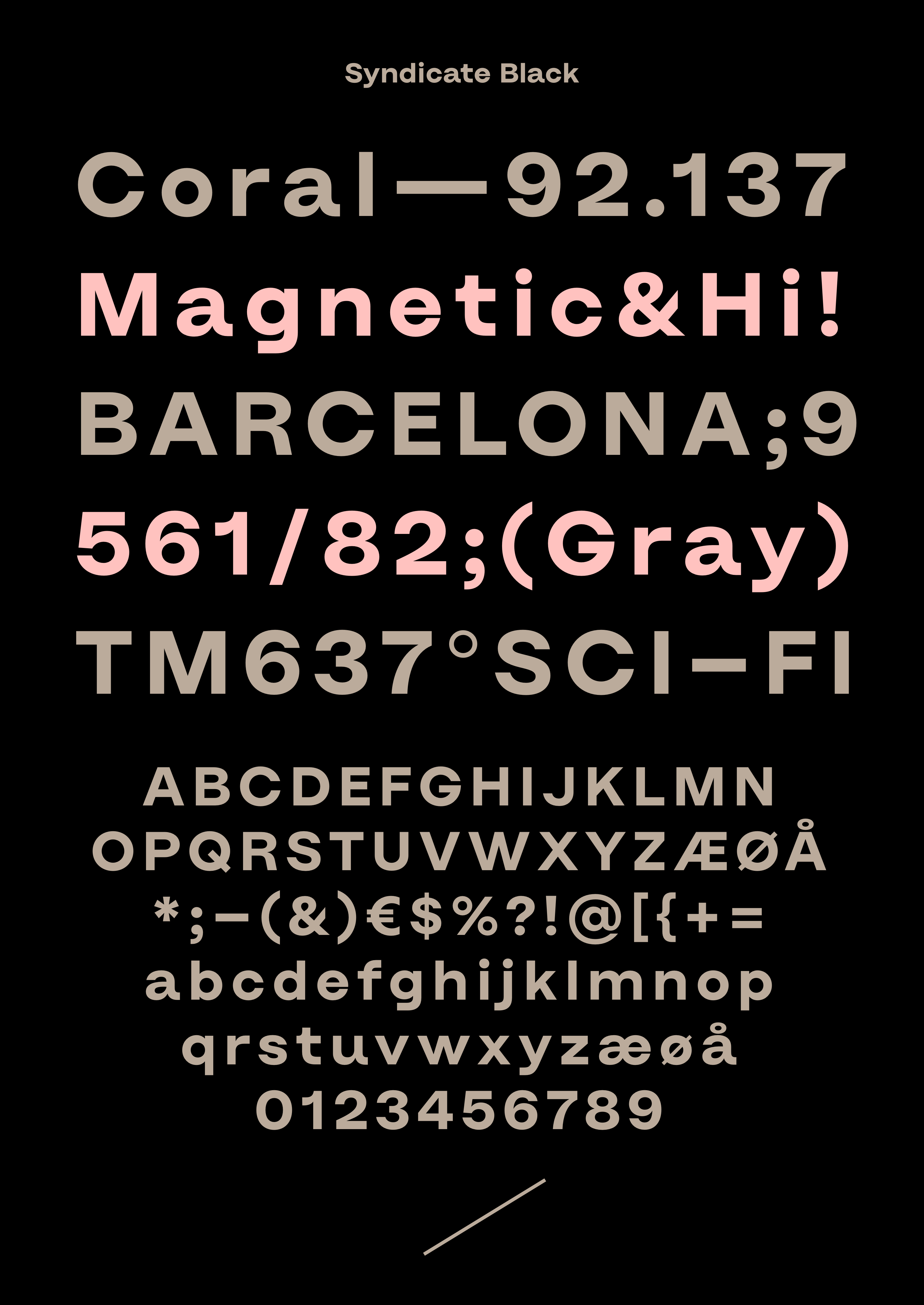 syndicate_typeface
